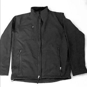 Black new unisex all weather jacket